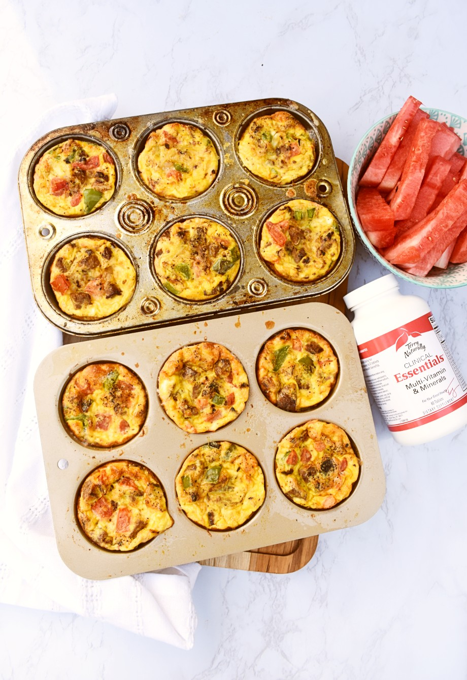 Sausage and Veggie Egg Muffins