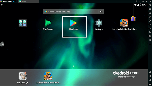 Buka Google Play Store Android di Memu Player PC Komputer Laptop