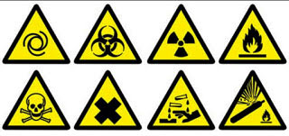 चेतावनी चिन्ह (warning signs)