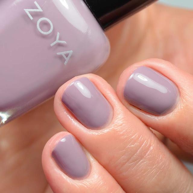 taupe creme nail polish swatch