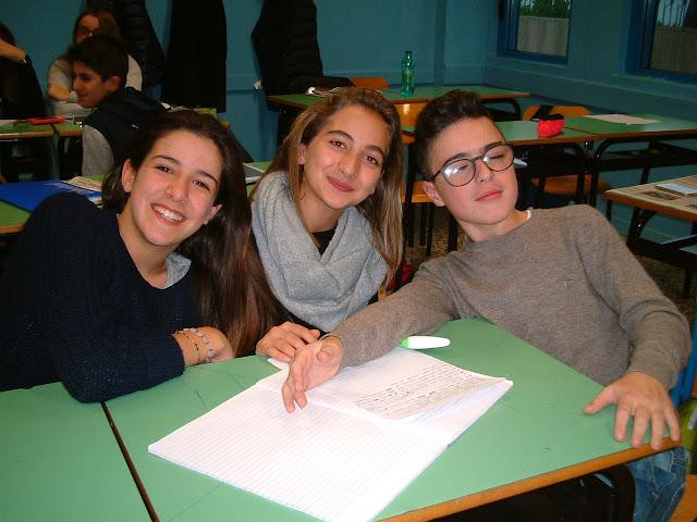 Gli alunni della Scuola Santomauro Giornalismo