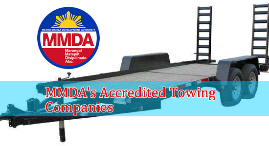 List of MMDA's Accredited Towing Companies