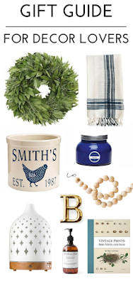 home decor gift ideas