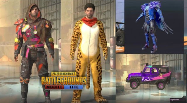 PUBG Mobile Lite all upcoming outfits in 2021