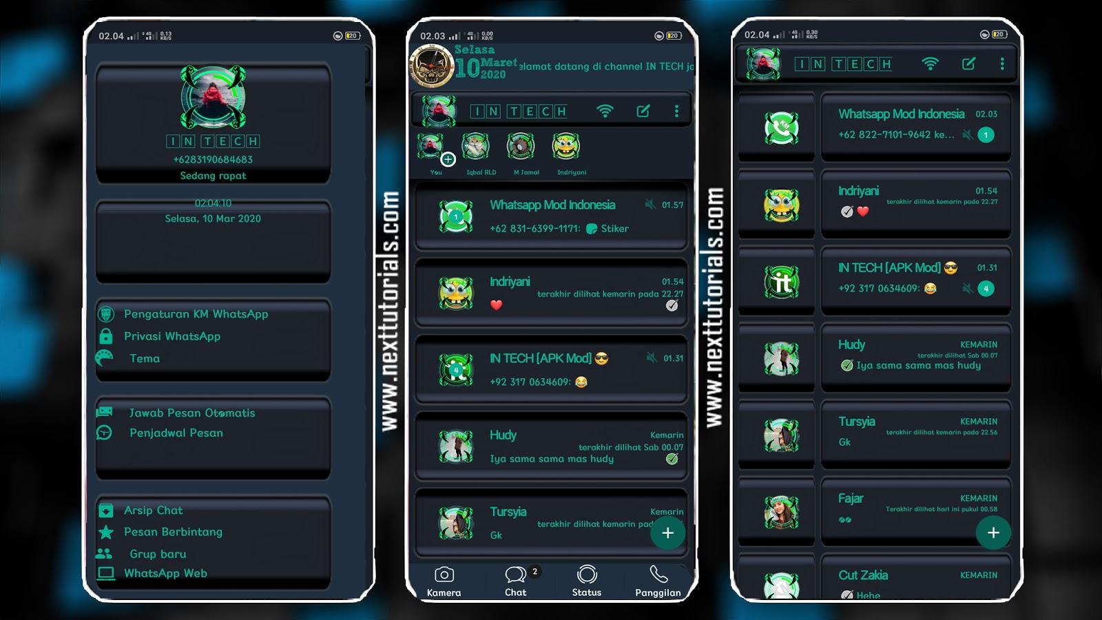 Kumpulan Tema KM WhatsApp Tampilan Keren 2020 - Next ...