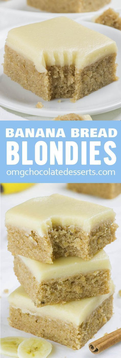 Banana Bread Blondies #recipes #baking #bakingrecipes #food #foodporn #healthy #yummy #instafood #foodie #delicious #dinner #breakfast #dessert #lunch #vegan #cake #eatclean #homemade #diet #healthyfood #cleaneating #foodstagram