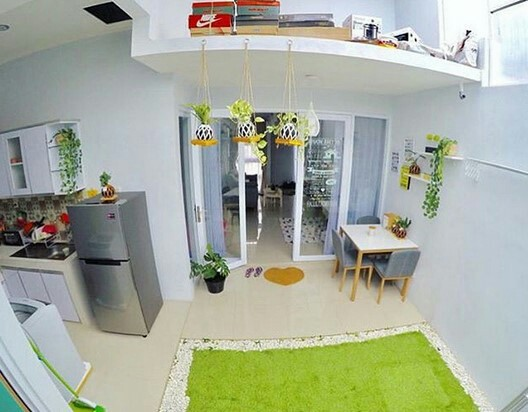 interior design for small living room with open kitchen