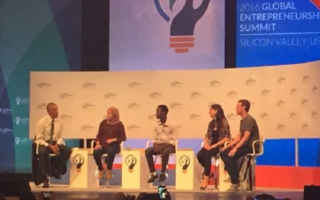 Obama, Zuckerberg, Pichai preach entrepreneurship at conference