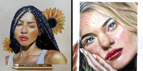00-Pencil-Portraits-Sama-www-designstack-co