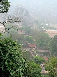 View from Hoa Lu Yen Tu Mountain