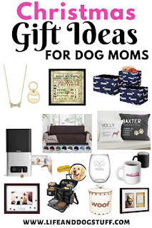 30+ Best Christmas Gift Ideas for Dog Moms.