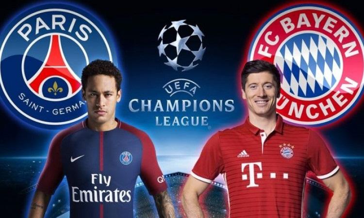 بث مباشر مباراة باريس سان جيرمان ضد بايرن ميونخ