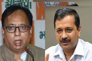 बिहार BJP ने CM केजरीवाल को बताया राक्षस, कहा- कोरोना फैलाने की रची साजिश