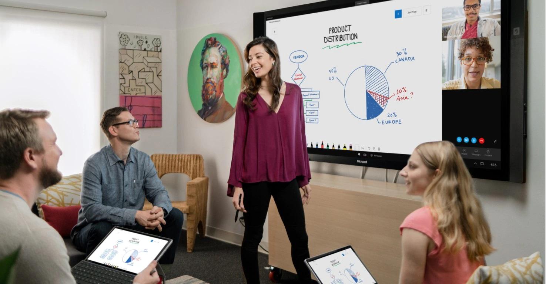 Microsoft Whiteboard per Windows 10 torna ad aggiornarsi con novità