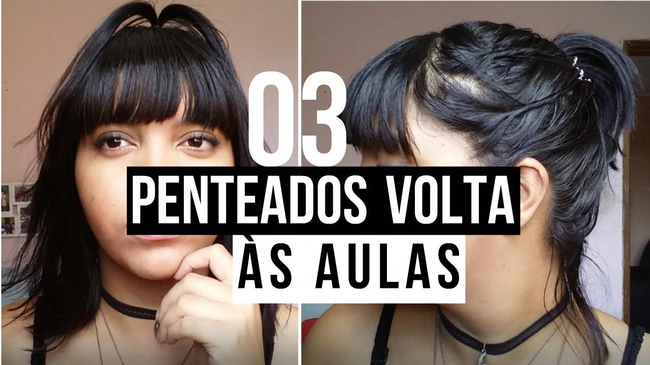 3 PENTEADOS PARA VOLTA ÀS AULAS | BLOG CONFIDENT