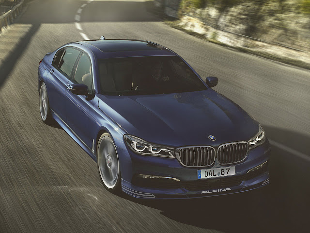 New 600 hp Alpina B7 supersaloon at Geneva