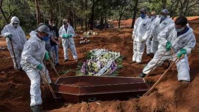 Brasil ultrapassa 490 mil mortes por Covid-19 nesta terça-feira