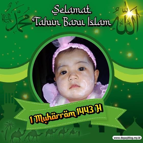 twibbon tahun baru islam 1443 h