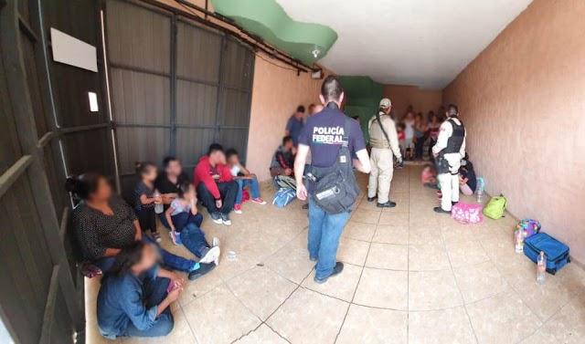 POLICÍA FEDERAL RESCATA A 147 MIGRANTES CENTROAMERICANOS QUE SE ENCONTRABAN RETENIDOS EN UN HOTEL DE TABASCO