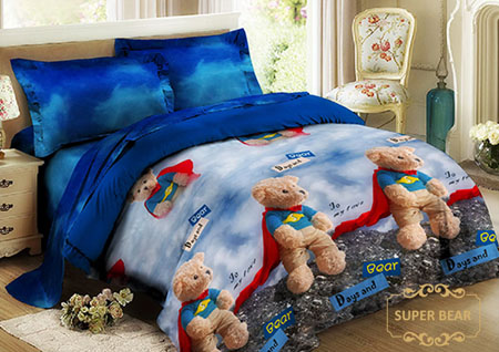 Sprei Kintakun Luxury Kids Super Bear