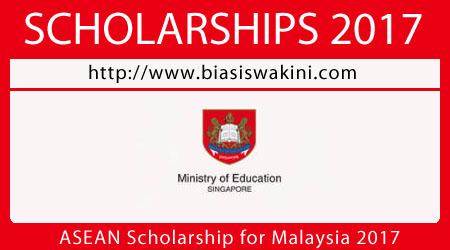 ASEAN Scholarship for Malaysia 2017