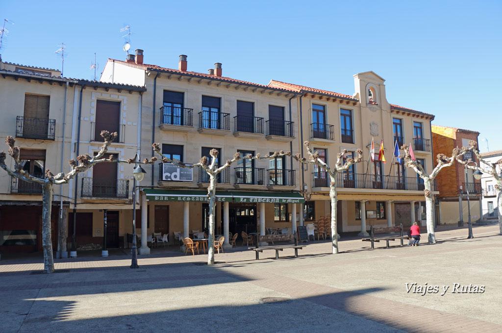 Ayuntamiento en Plaza Mayor de Sahagun de Campos