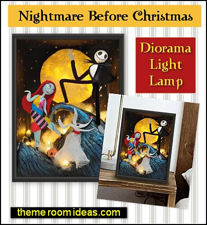 The Nightmare Before Christmas, Diorama Light Lamp The Nightmare Before Christmas,decor