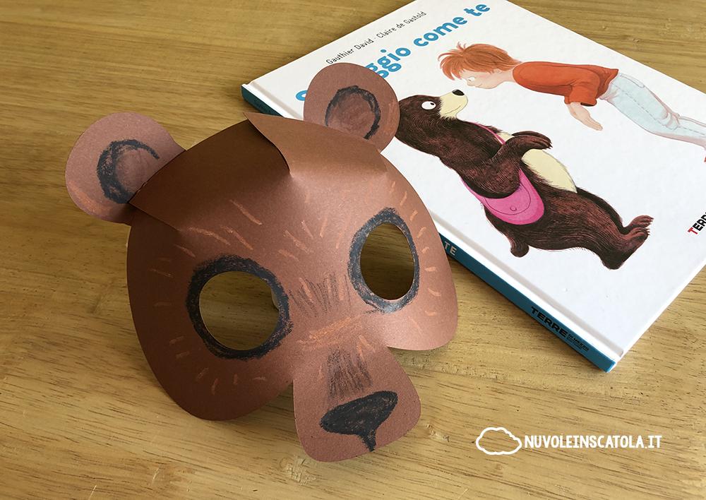 maschera da orso