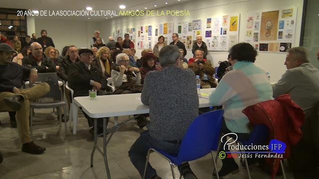 20 AÑOS DE LA ASOCIACIÓN CULTURAL AMIGOS DE LA POESÍA