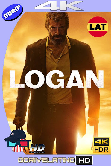 Logan (2017) BDRip 4K HDR Latino-Ingles MKV
