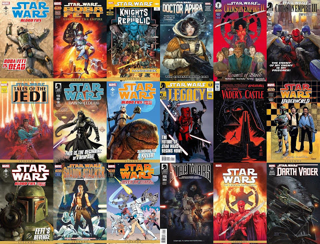 Cómics y novelas gráficas de la saga Star Wars