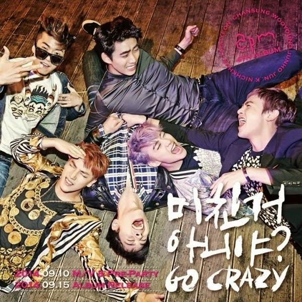 Lirik dan Terjemahan Indonesia 2PM 'Go Crazy' [Hangeul] [Romanisation]