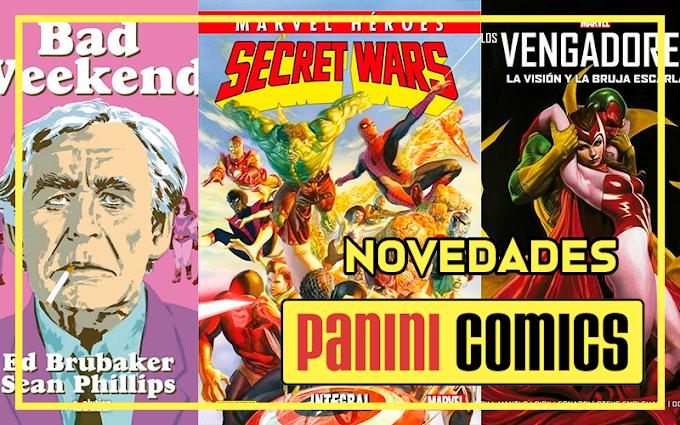 Novedades de Panini Cómics para abril 2021