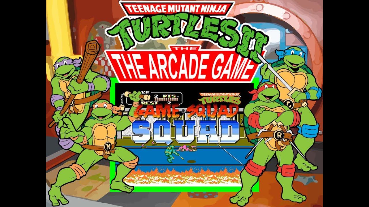 Top 5 Ninja Turtle Games
