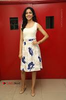 Actress Ritu Varma Stills in White Floral Short Dress at Kesava Movie Success Meet .COM 0018.JPG