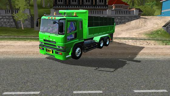 Mod Dump Truck Fuso Super Great