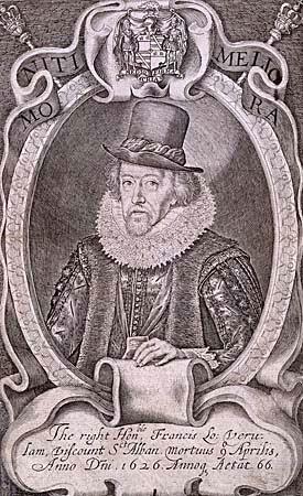 sebagai Jaksa Agung dan pemimpin Kanselir Inggris Francis Bacon - Bapak Empirisme