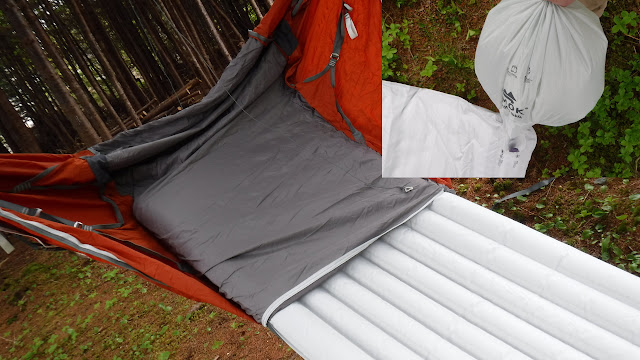 Newfoundland Fat Bike Fatbike Republic Bikepacking Hammock Tent AMOK Draumr Borg Tarp Fjøl LW Mattress Bike Packing AMOK Sleeping System Best Hammock Ever Fatbike