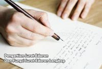 Fungsi Surat Edaran dan Pengertian Surat Edaran