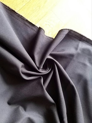 Quần Tây Nam Kaki Màu Đen 1m1/ quần( khổ 1m6)