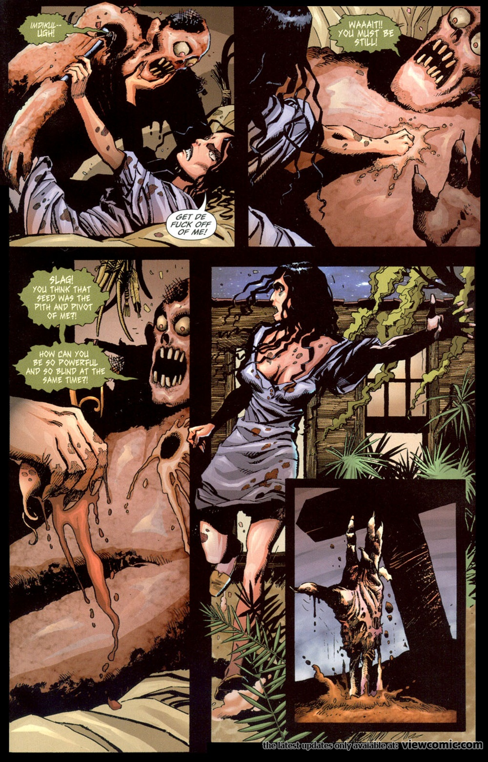 Swamp Thing v4 009 | Vietcomic.net reading comics online for free