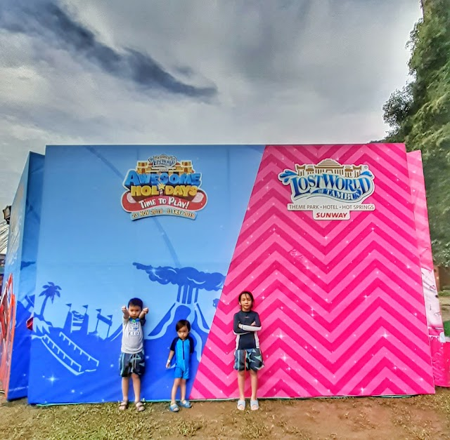 Awesome Holidays with Barbie and Hot Wheels at Sunway Lost World of Tambun.