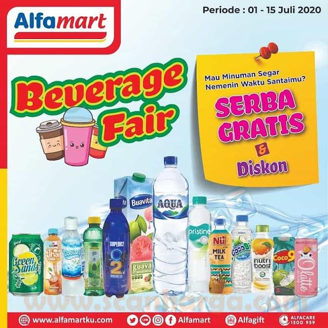 Promo Alfamart Beverages Fair Periode 1 - 15 Juli 2020