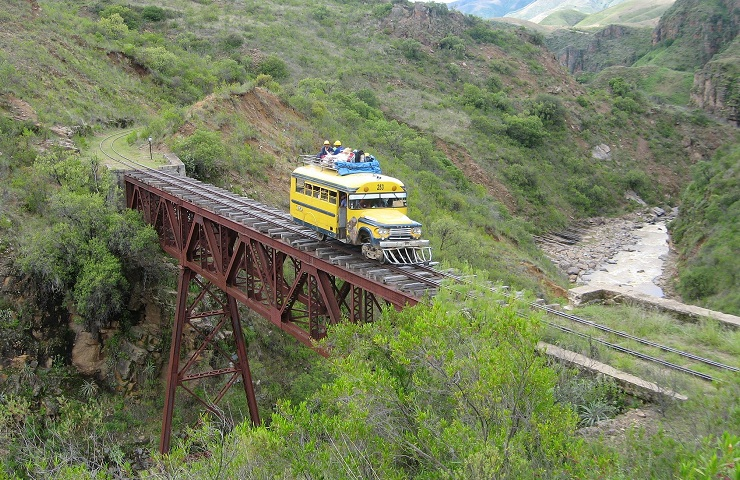 Mizque tren bus destino turistico de cochabamba