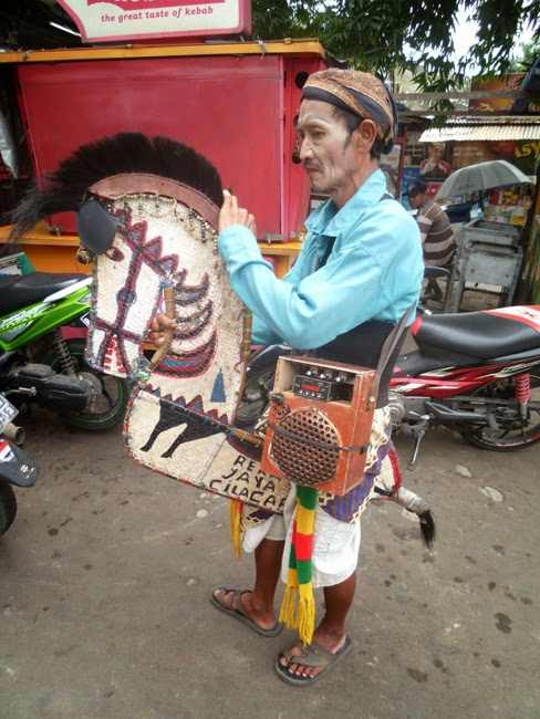Kuda lumping en Yakarta
