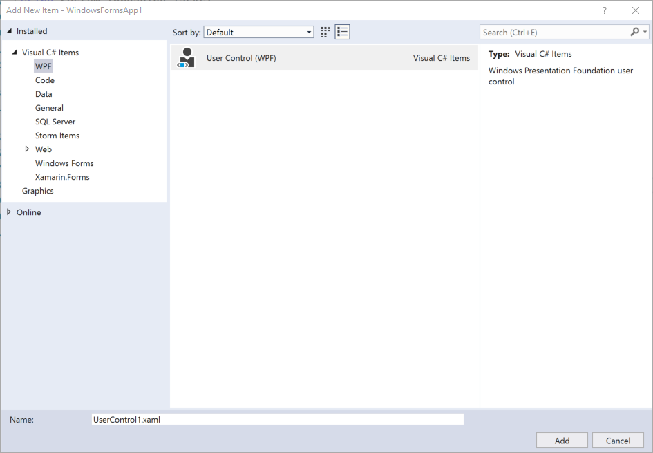 UI Geek's Blog: Updating WinForms with WPF… Getting Started