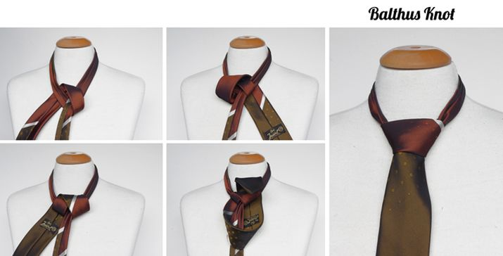 Balthus tie knot instructions