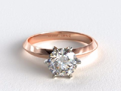 Rose Gold Wedding Rings Cheap