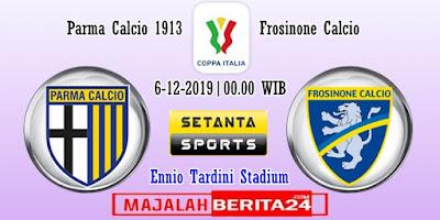 Prediksi Parma vs Frosinone — 6 Desember 2019
