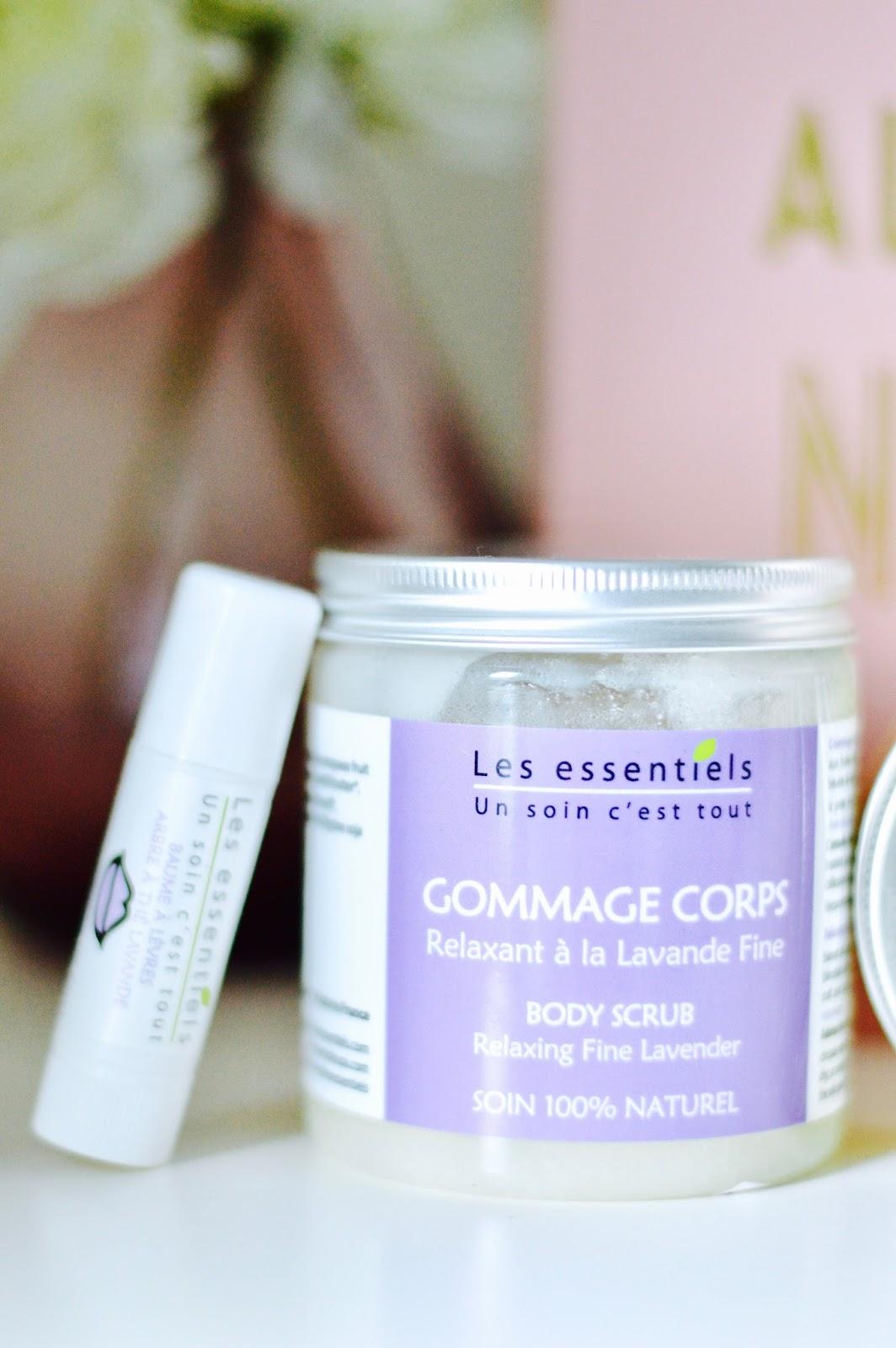 Savonnerie les Essentiels lavande geranium rosa soins corporels 100% naturel
